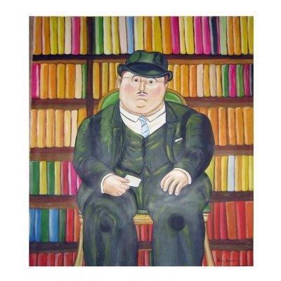 Il notaio - Copia di Fernando Botero