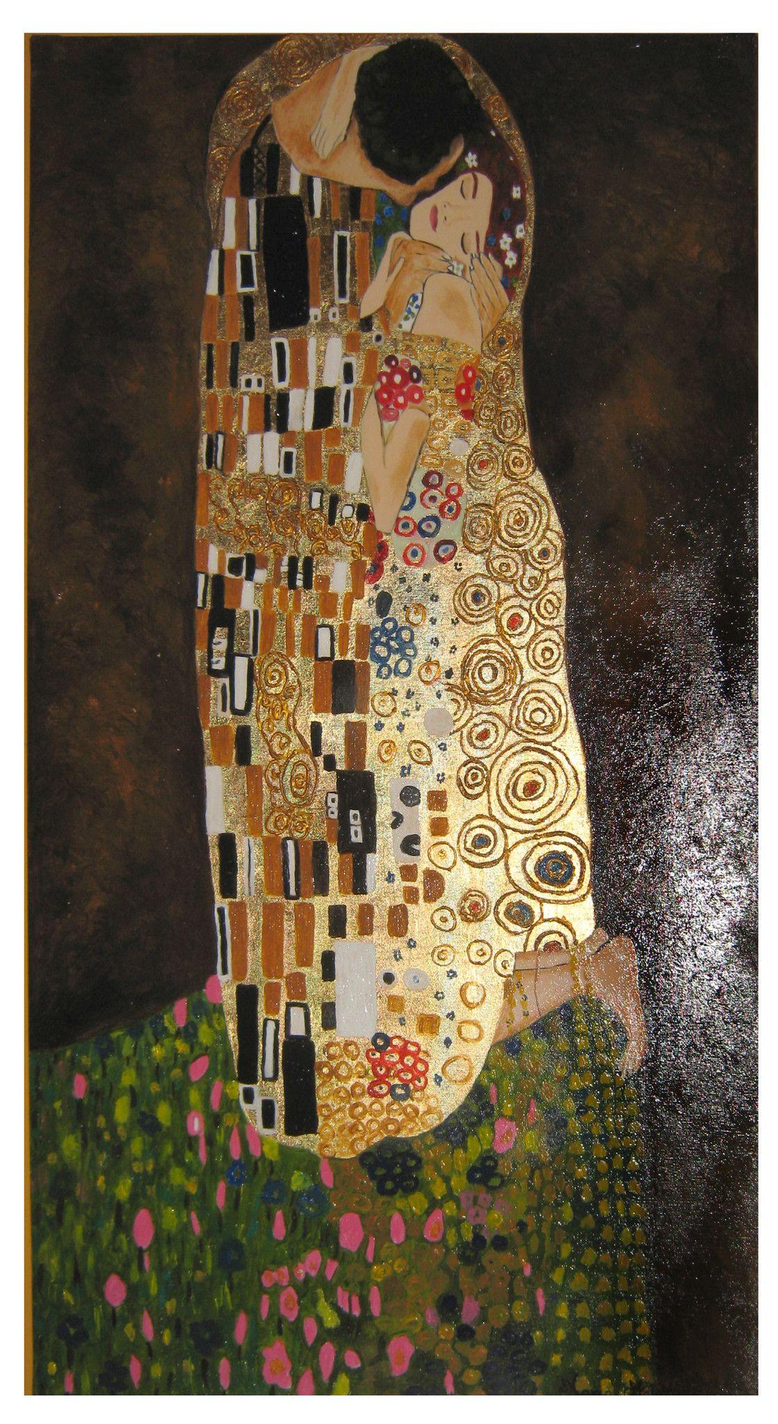 Il bacio - Copia di Gustav Klimt - 55x90