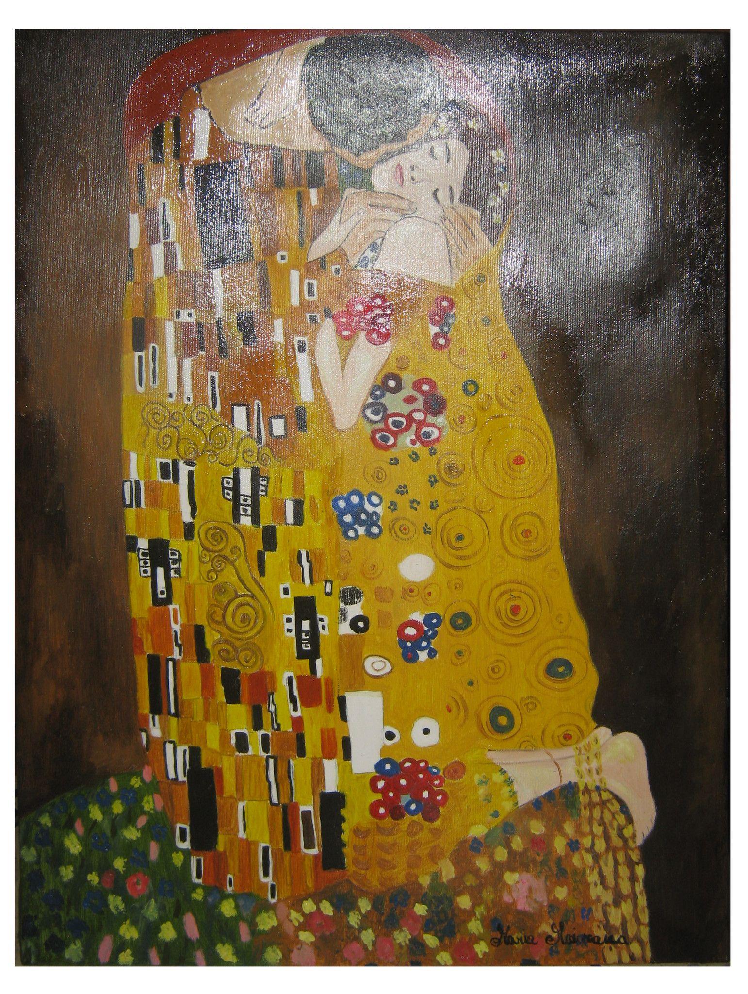 Il bacio - Copia di Gustav Klimt - 50x60