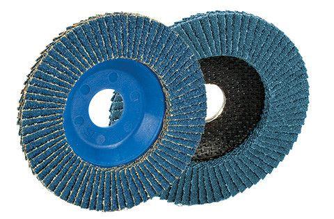 DISCO LAMELLARE IN OSSIDO DI ZIRCONIO 125(mm)X120(grana)