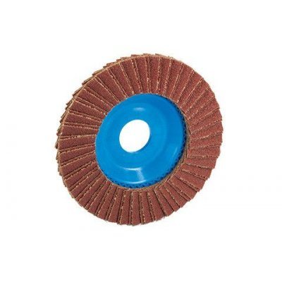 DISCO LAMELLARE IN CORINDONE 125(mm)X36(grana)