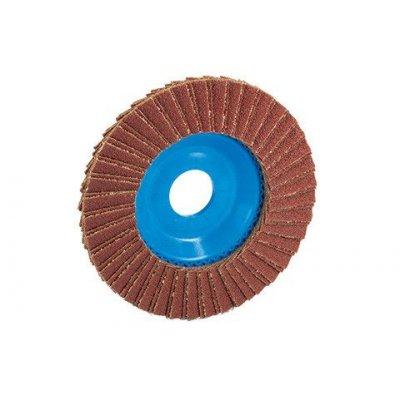 DISCO LAMELLARE IN CORINDONE 125(mm)X120(grana)