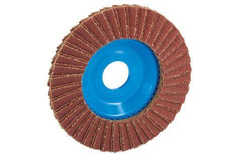 DISCO LAMELLARE IN CORINDONE 125(mm)X180(grana)