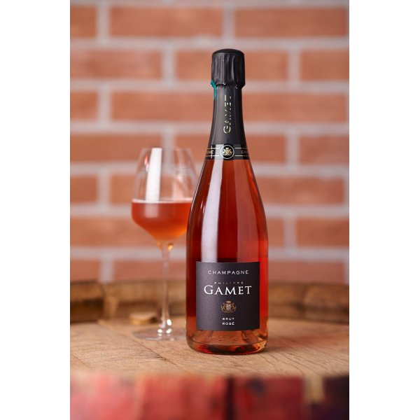 GAMET BRUT ROSE' CHAMPAGNE 0,75