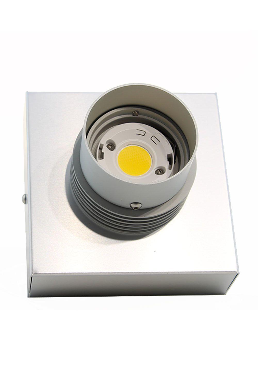 Proiettore COB 1 Colore Alluminio Neutro