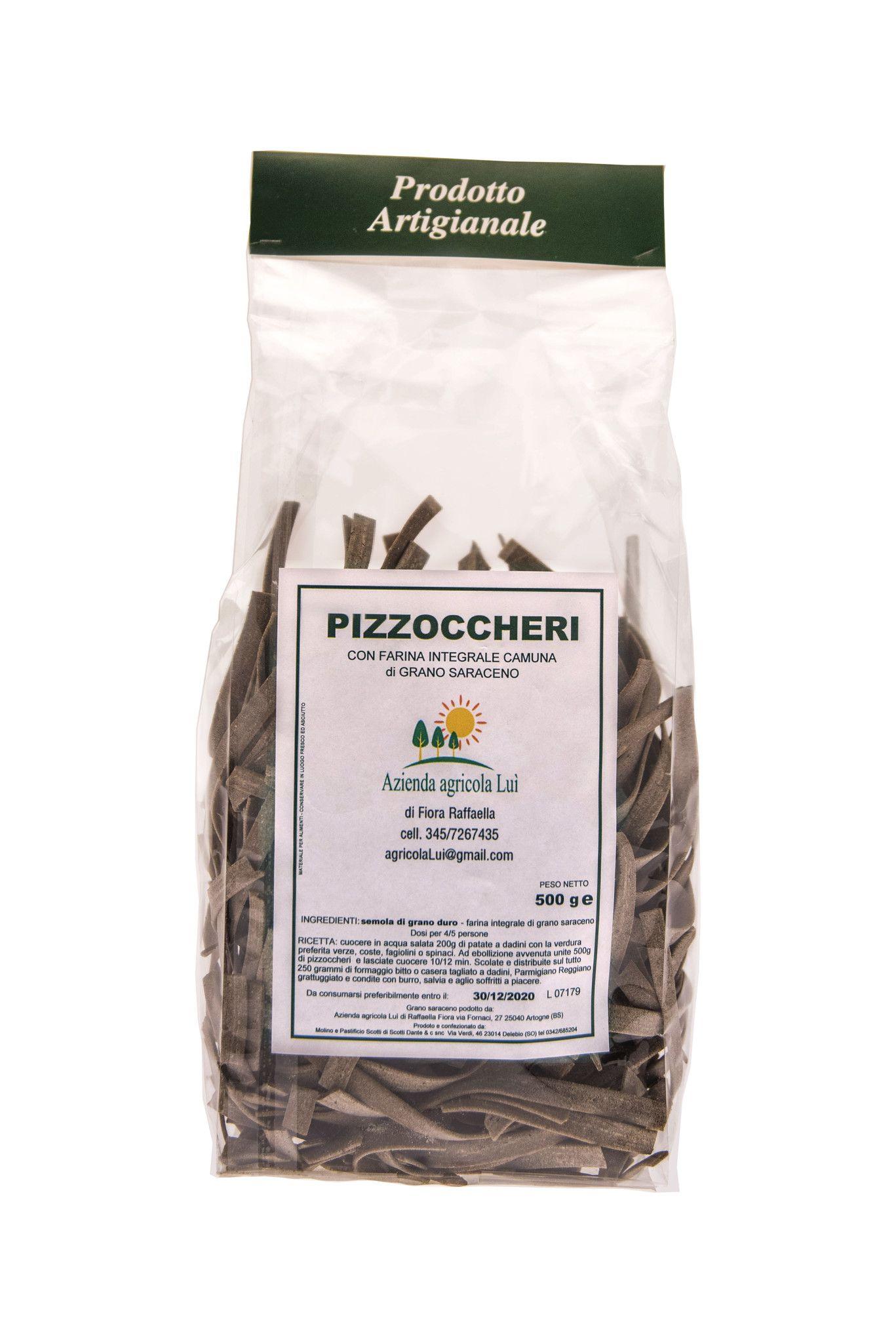 Pizzoccheri grano saraceno camuno