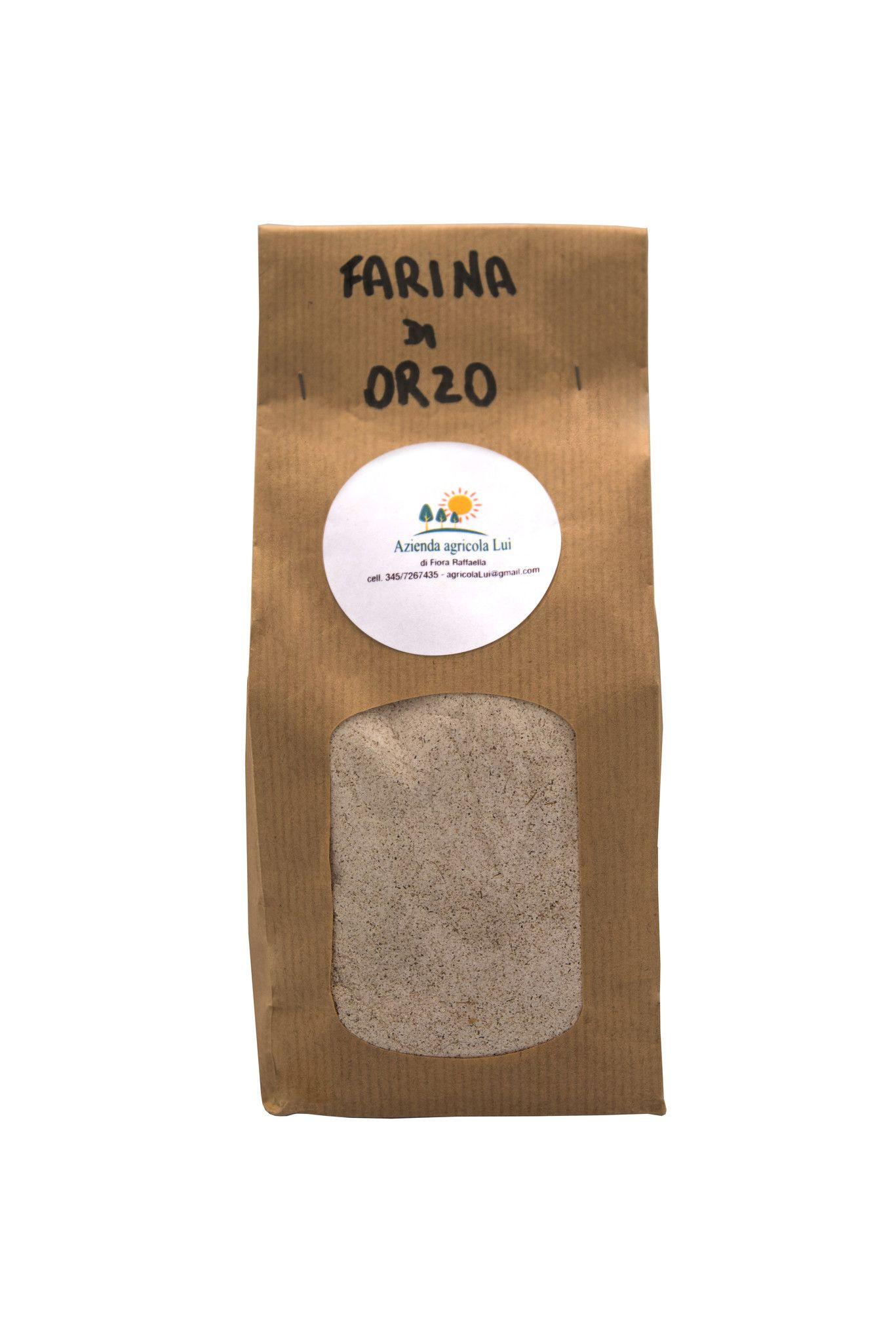 Farina Integrale di orzo 0,5 kg