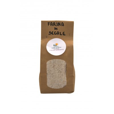 Farine integrale di segale 0,5 Kg