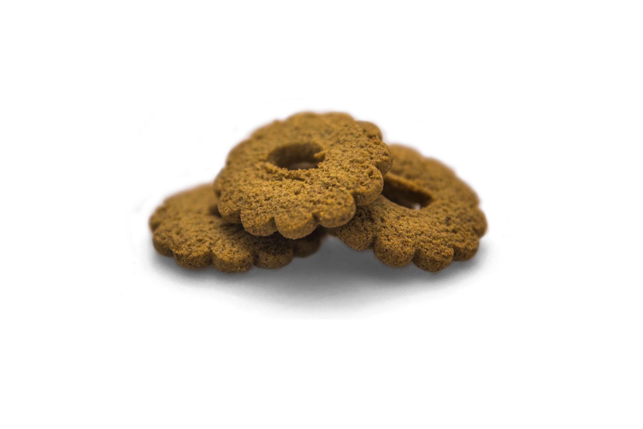 BIiscotti integrali con farina integrale di orzo camuna