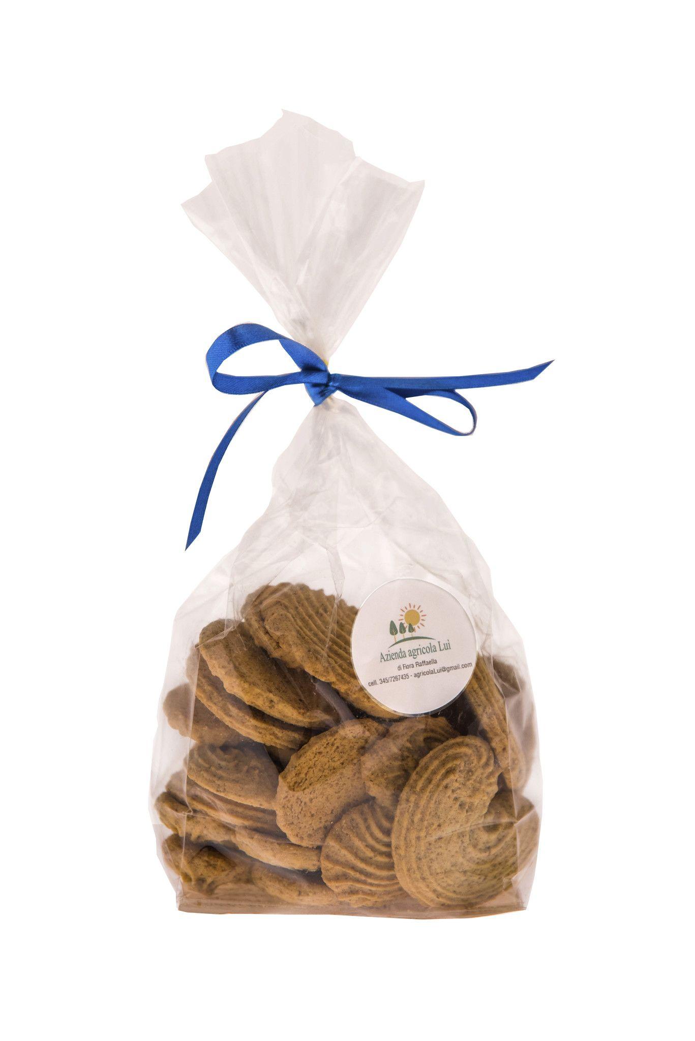 Biscotti con farina di segale integrale camuna