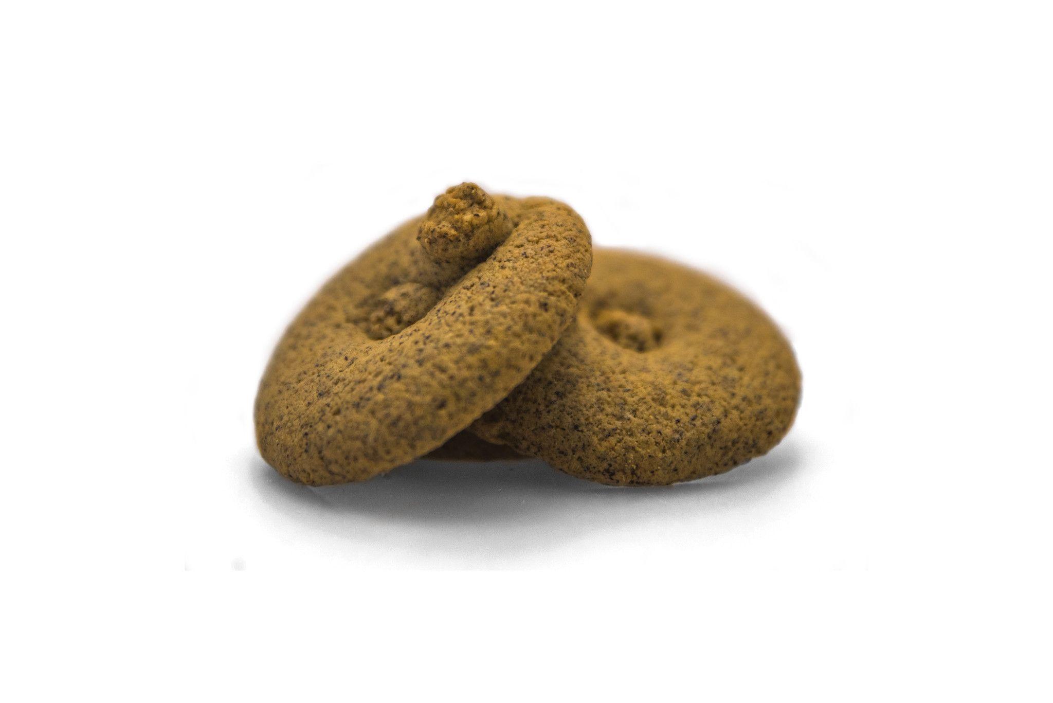 Biscotti integrali con farina di grano sarano camuno