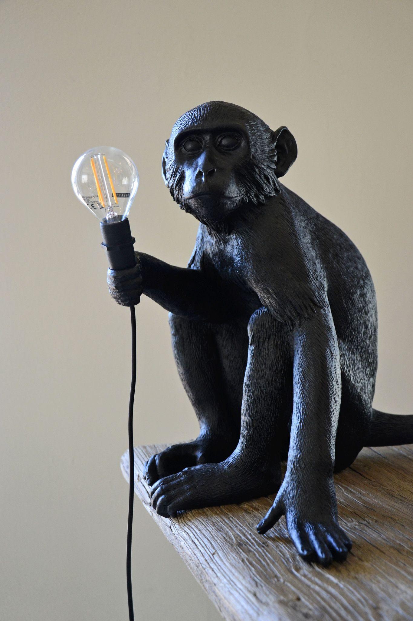 Monkey Lamp Sitting Version - Seletti | Oggettistica ...