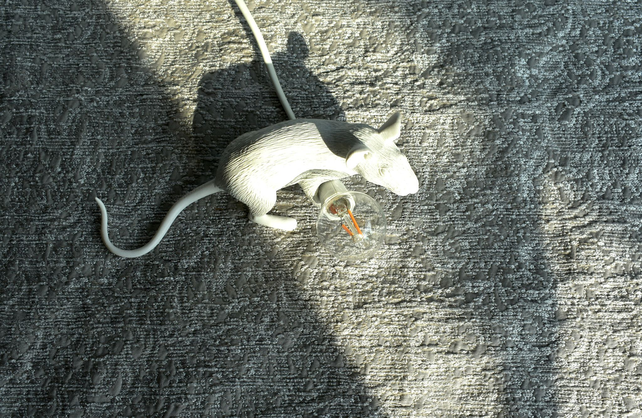 Mouse Lamp Lyie Down - Seletti