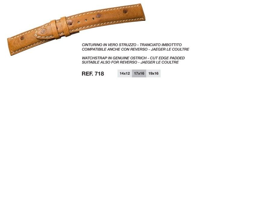 Cinturino Pelle 718