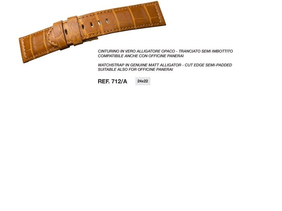 Cinturino Pelle 712/A