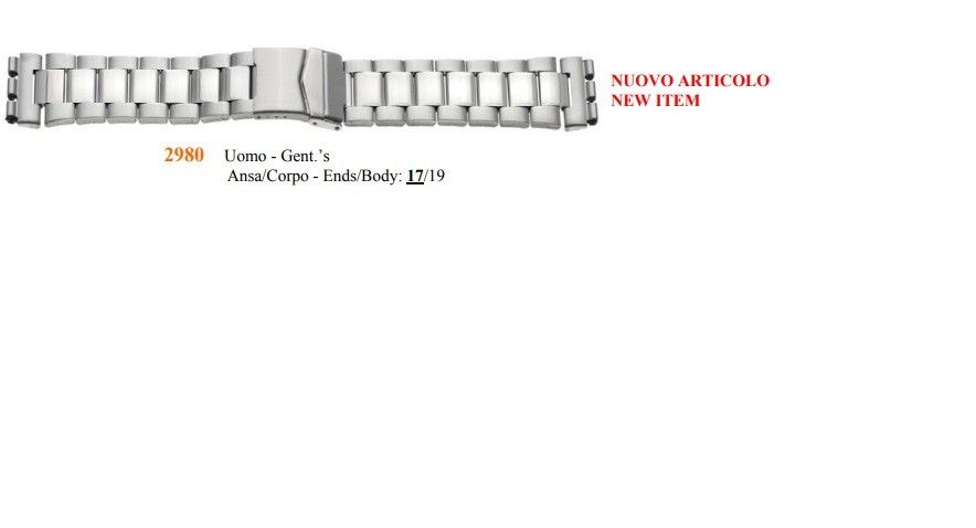 Cinturino Swatch 2980
