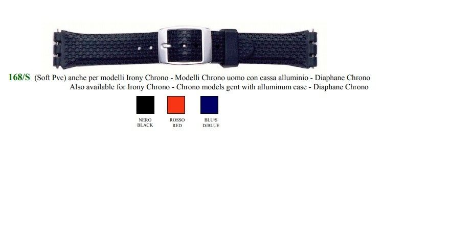 Cinturino Swatch 168/S