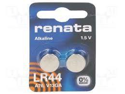 Pile Alkaline 1,5 V Renata LR 44