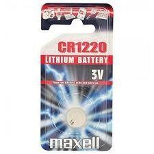 Pile Lithio 3 V Maxell 1220