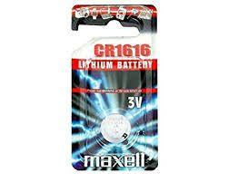 Pile Lithio 3 V Maxell 1616