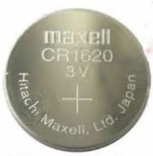 Pile Lithio 3 V Maxell 1620