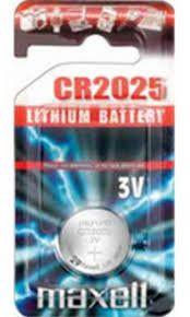 Pile Lithio 3 V Maxell 2025