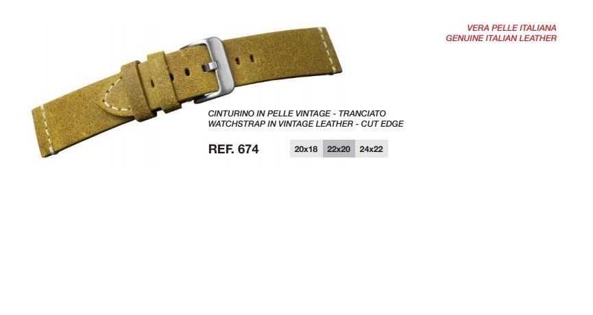 Cinturino Pelle 674