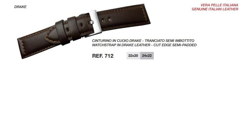 Cinturino Pelle 712
