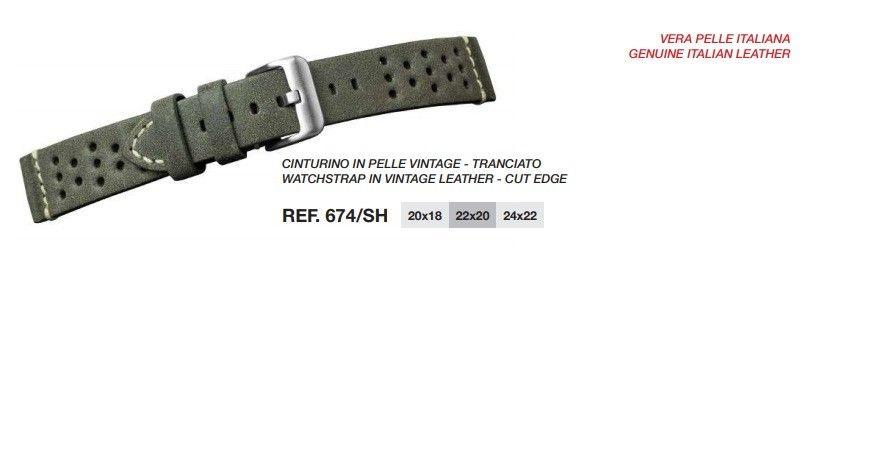 Cinturino Pelle 674SH