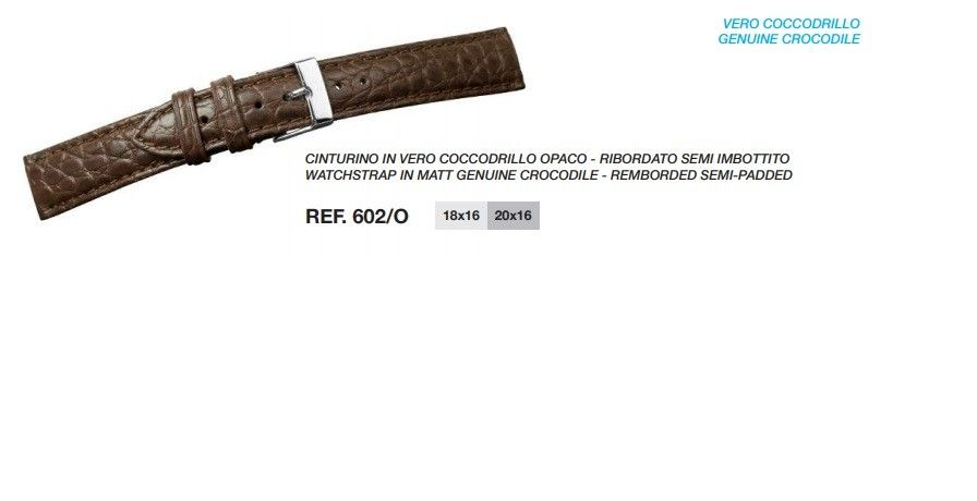 Cinturino Pelle 602/O