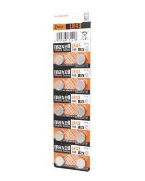 Pile Alkaline 1,5 V Maxell LR43