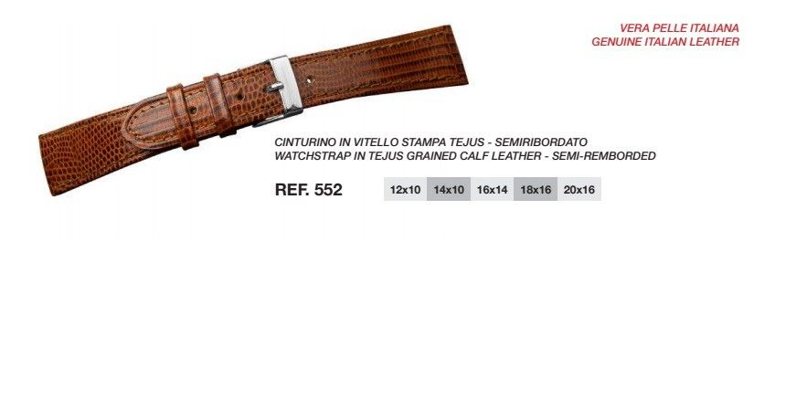 Cinturino Pelle 552