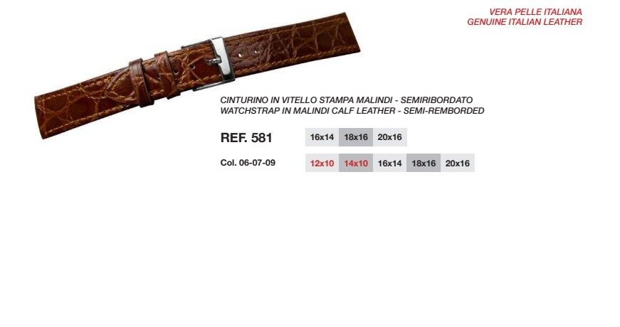 Cinturino Pelle 581