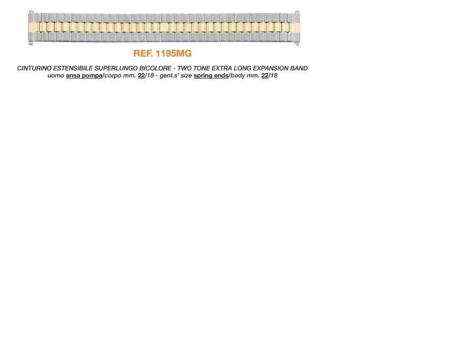 Cinturino Metallo 1195/MG