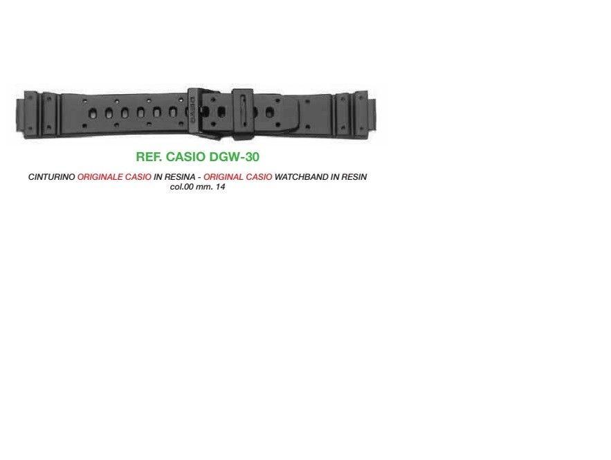 Cinturino Casio DGW-30