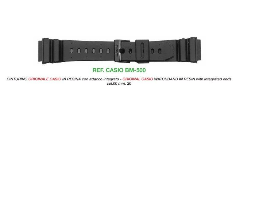 Cinturino Casio BM-500