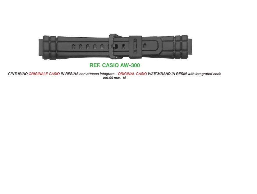 Cinturino Casio AW-300