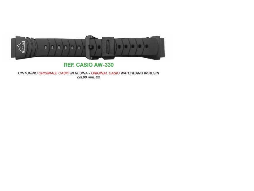 Cinturino Casio AW-330