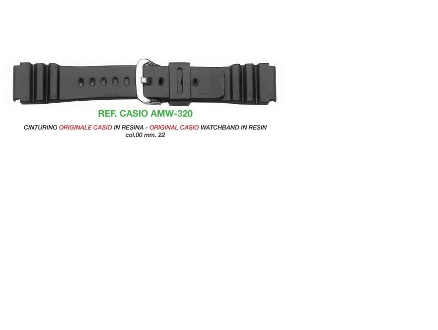 Cinturino Casio AMW-320