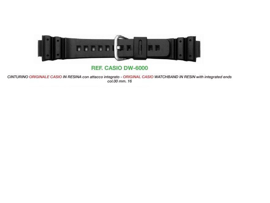 Cinturino Casio DW-6000