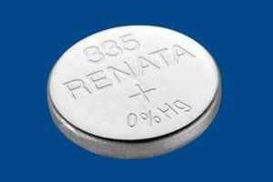 Pile per Orologi Renata 335