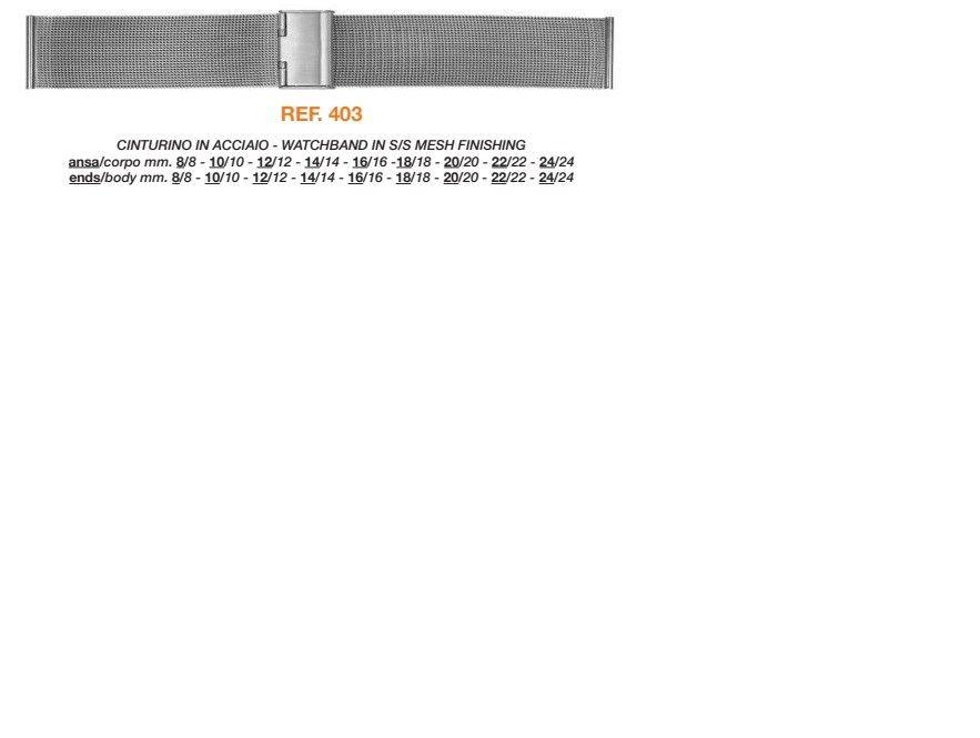Cinturino Metallo Speciale 403