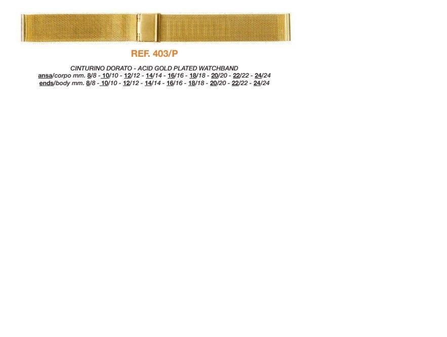 Cinturino Metallo Speciale 403/P