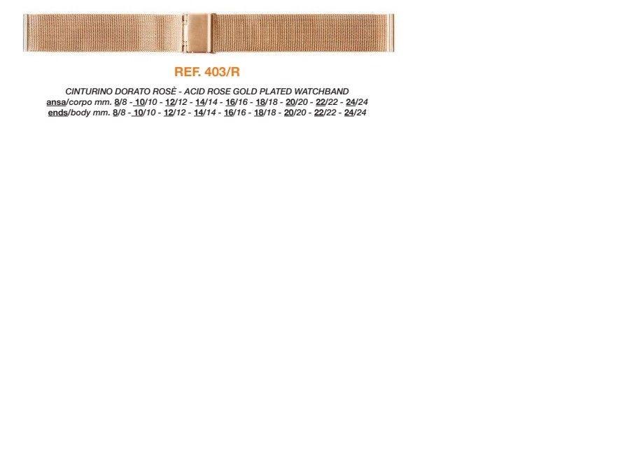 Cinturino Metallo Speciale 403/R