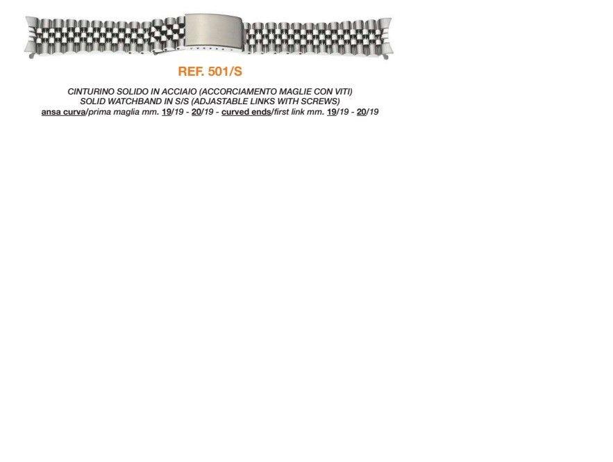 Cinturino Metallo 501/S