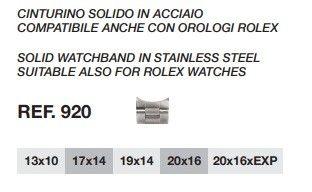 Cinturino Compatibile Rolex 920