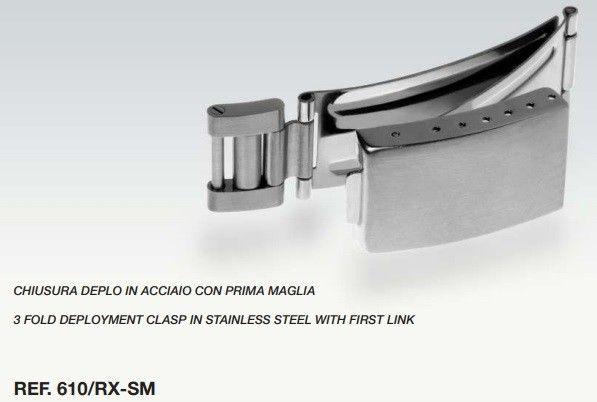 Chiusura Compatibile Cinturino Rolex 640/RX-S