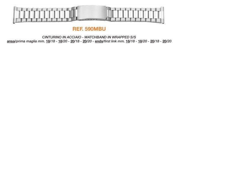 Cinturino Metallo 590MBU