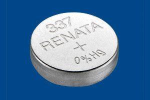 Pile per Orologi Renata 337