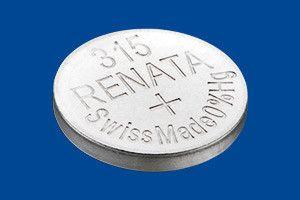 Pile per Orologi Renata Confezione MP 315